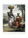 Negro Women of Rio-Janeiro  from 'Picturesque Voyage to Brazil'  1835