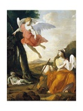 Hagar and Ishmael Saved by an Angel