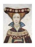 Figure of Hippolyta  Detail of a Fresco