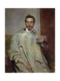 Portrait of Sculptor Giovanni Mayer