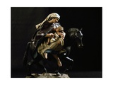 Flight into Egypt  Nativity Figurine