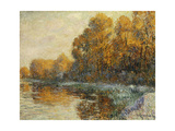 Edge of the River in Autumn; Bords De Riviere En Automne  1912