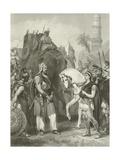 Surrender of Porus to the Emperor Alexander  326 Bc