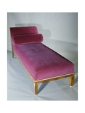 Art Deco Style Bed with Headrest  1916