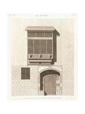 Cairo: Elevation of the House of Ibrahim Kikheyd El Sennary  1820-1830