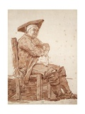 Portrait of Seated Man  known as Postiglione