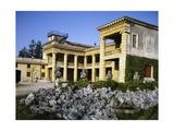 Glimpse of Villa Serego or Villa Santa Sofia
