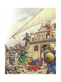 The Knights of St John Seized Turkey's Finest Galleon  the Sultana