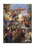 Crucifix with Angels  Circa 1660