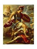Figure of Aeneas  Details from Aeneas Defeats Turnus