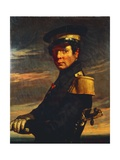 Portrait of Naval Officer  1845