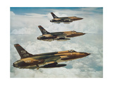 Us Air Force Republic F-105 Thunderchief Fighters