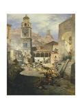 Market Square at the Amalfi Coast  1876
