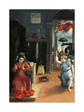 The Recanati Annunciation  Circa 1532
