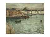 In Front of the Port of Dieppe; Avant Porte De Dieppe  1918-1920