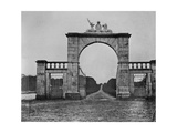 The Lion Gate at Mote Park  the Crofton Family Home  C1859