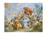 Fresco with Apotheosis of Medici Family