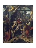 Birth of Jesus  Central Panel of Triptych