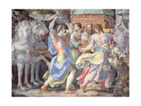 Triumph of Camillo  Scene from 'Stories of Furius Camillus'  C1545