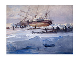The Endurance Crushed in the Ice of the Weddell Sea  October 1915