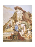 The Judgment of Solomon  1726-1729