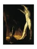 Satan Calling to Beelzebub  1802
