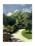 Girl in a Garden  Le Pradet; Fillette Au Jardin  Le Pradet  C1925