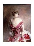 Portrait of Mlle De Gillespie  La Dame De Biarritz  1912