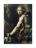 David with Goliath's Head  1623-1625