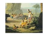 Triumph of America  Circa 1760