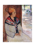 Woman in a Bandana at Prefailles; Femme Au Madras a Prefailles  1922