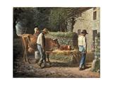 The Birth of a Calf  1864