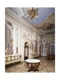 Glimpse of the Atrium  with Frescoes