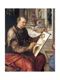 St Luke Painting Virgin