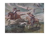Detail from Hunting Scene  1574-1581