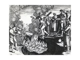 Woman Throwing Herself on Husband's Pyre