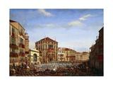 Napoleon at Regatta in Venice  December 2  1807