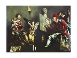 St Luke Painting Virgin and Child  1532