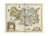 Map of Iceland  from 'Atlas Maior Sive Cosmographia Blaviana'  1662
