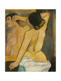 Nude Woman in Front of a Mirror; Femme Nue Devant Un Miroir  1904