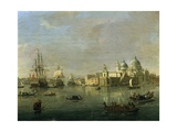 View of Venice with Giudecca and Customs House