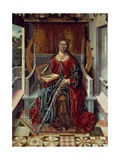 Triptych of St Catherine  Middle Panel