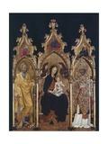 Triptych of St Nicholas  Ca 1440