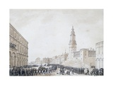 Funeral of French Officer in Weimar  October 1806