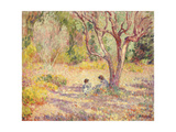 Games in the Shade of the Garden; Jeux a L'Ombre Du Jardin  C1906-1907