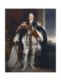 Portrait of King William IV  Copy after Sir Martin Archer Shee  1844