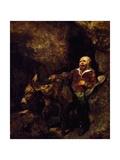 Sancho Panza and His Donkey