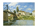 Bridge at Villeneuve-La-Garenne  1872