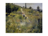 Path Leading Through Tall Grass  1876-1877