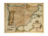 Map of the Iberian Peninsula Theatrum Orbis Terrarum